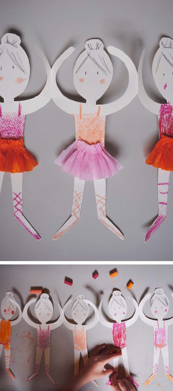 Paper Doll Chain | Mer Mag