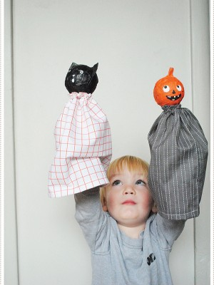 Get frightfully festive this Halloween with Paper Mache Puppets