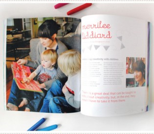 Mer Mag in Hand in Hand: Crafting with Kids (And a Giveaway!!)