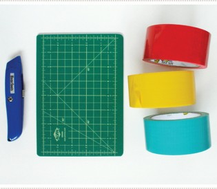 How to Cut Duct Tape for Craft Projects