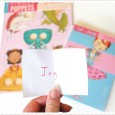 Finger Puppets and Flip Draw book