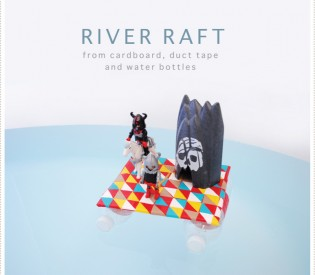 River Raft DIY
