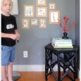 DIY Dry Erase Framed Gallery For Kids