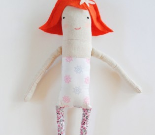 Milly the Mermaid Doll Basic Mod Doll Pattern
