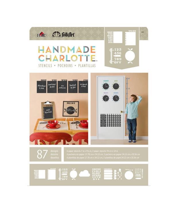 HandmadeCharlotteStencilPack