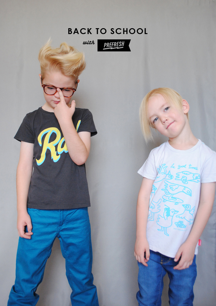 Mer Mag | Back to School with Prefresh Tees
