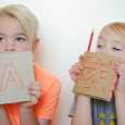 DIY Notebooks from Cereal Boxes