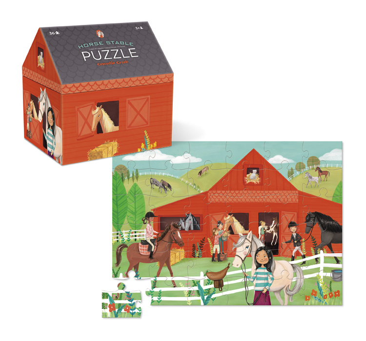 Tuesday Mourning Horse Stable Puzzle