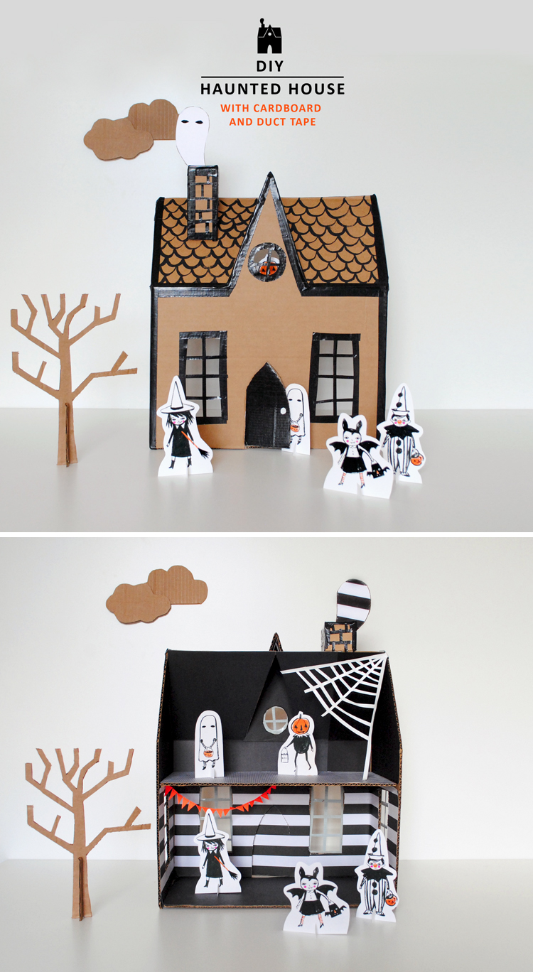 diy haunted house mer mag