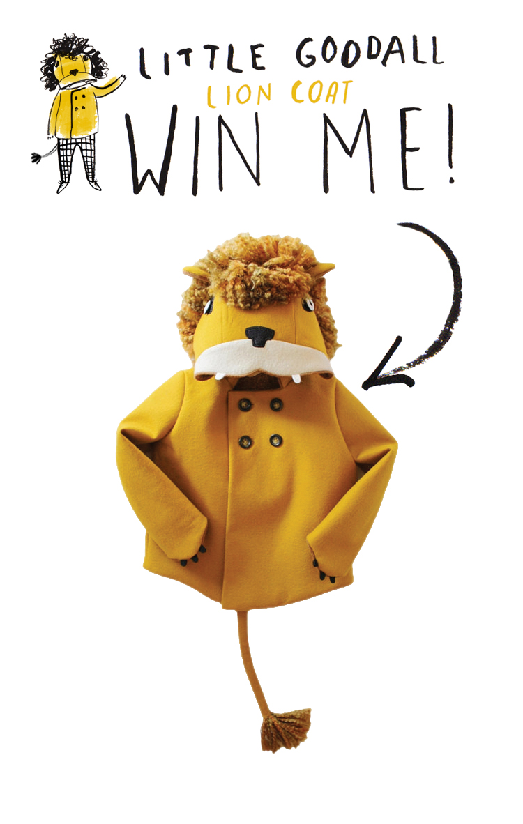 Mer Mag 24 Merry Days Giveaway with Little Goodall Lion Coat Giveaway!