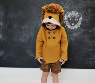 24 Merry Days: Win this Lion Coat from Little Goodall!