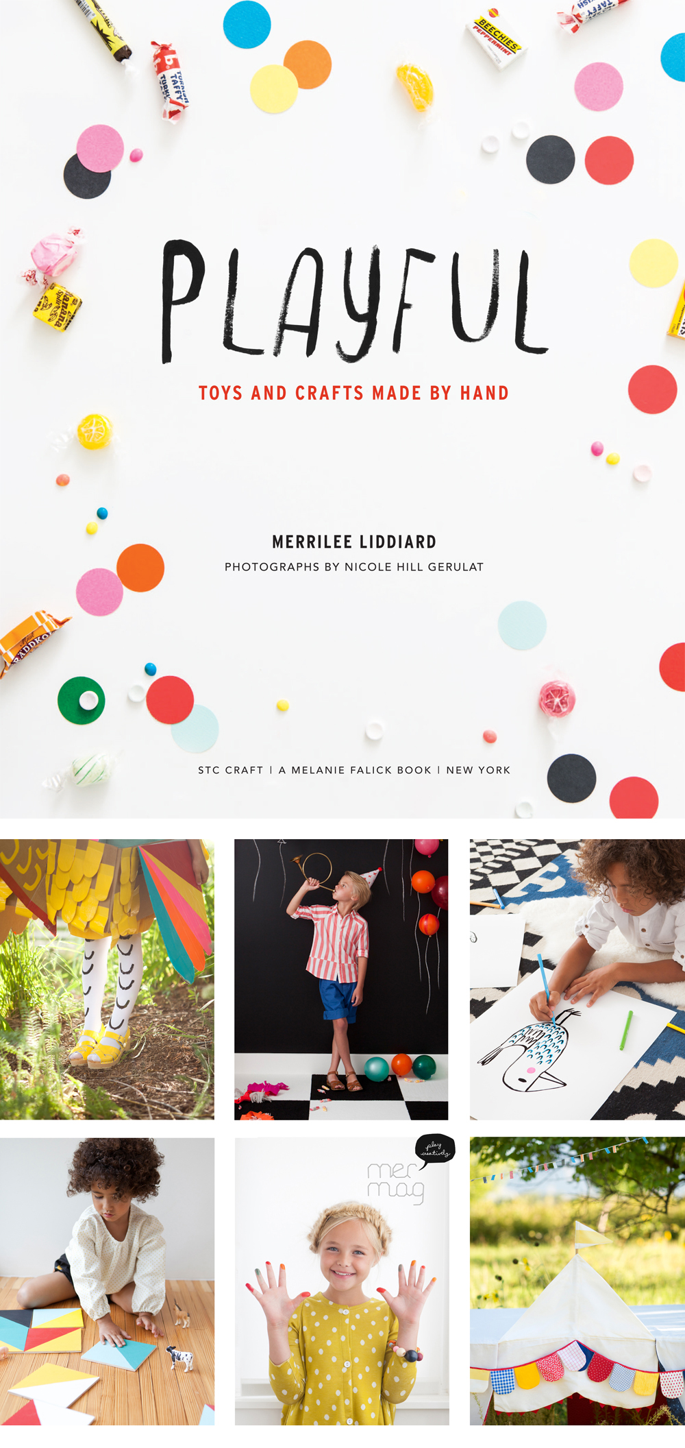 Mer Mag Book | PLAYFUL Toys and Crafts Made By Hand