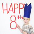 An 8 year old Birthday Boy
