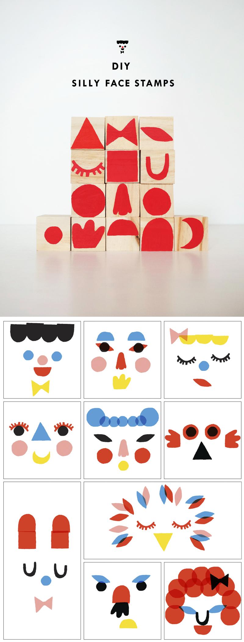 DIY Face Stamps | mer mag