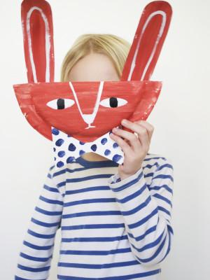DIY paper plate bunny pal | mer mag