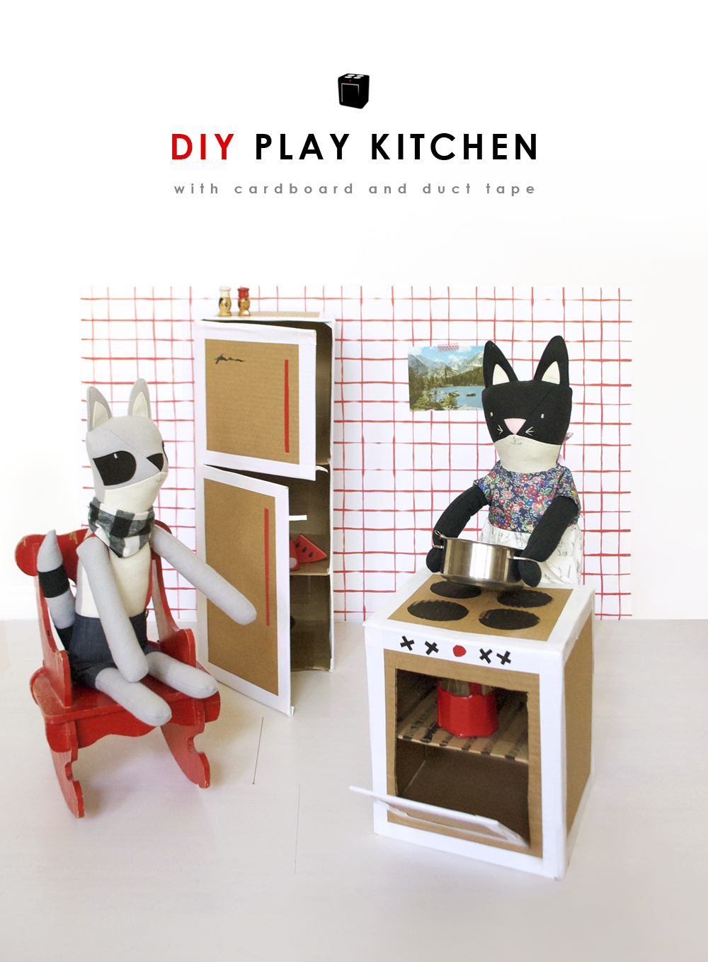 DIY Play Kitchen - Mer Mag