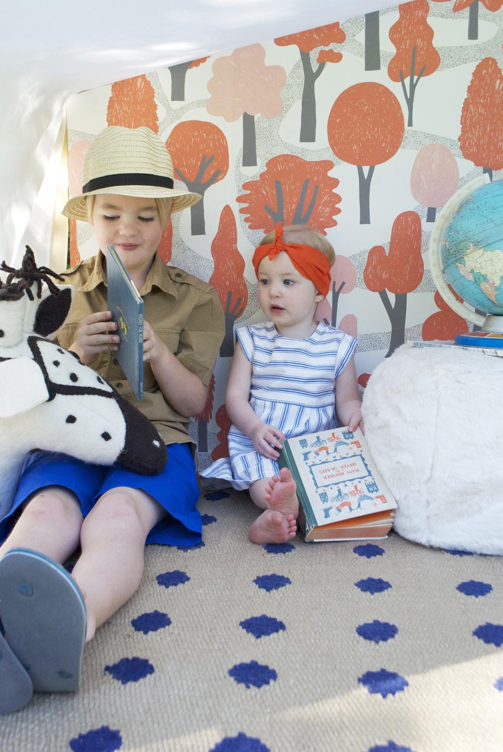Mer Mag | Pottery Barn Book Nook