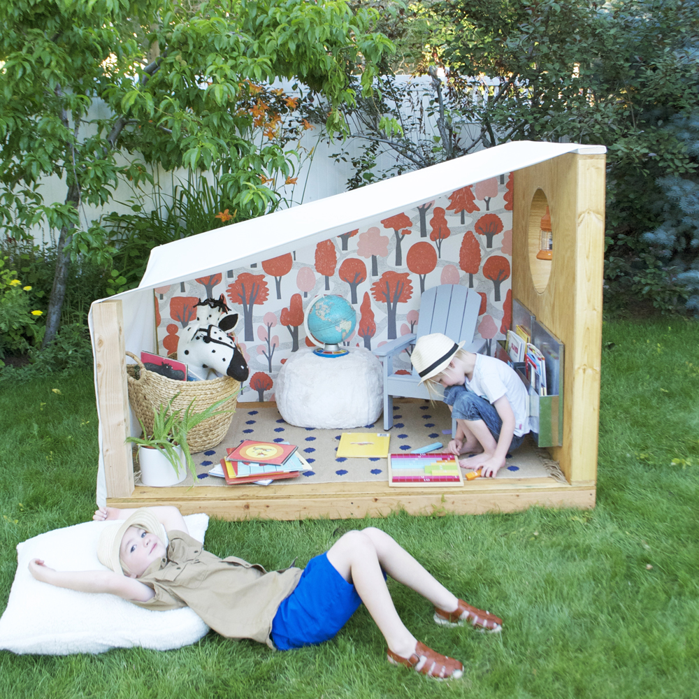 Kids Outdoor Book Nook | Mer Mag