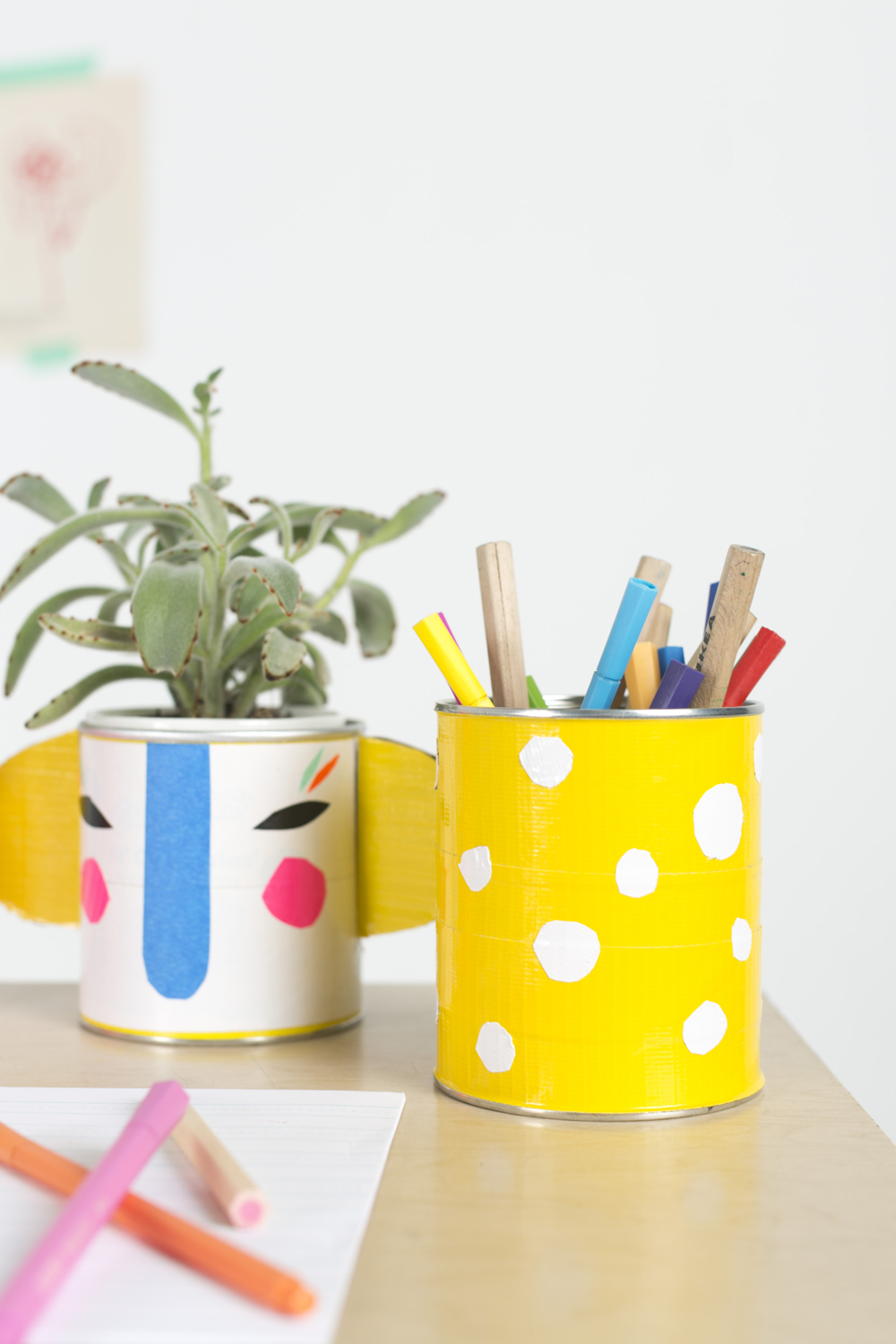 Mer Mag | Duct Tape Canisters