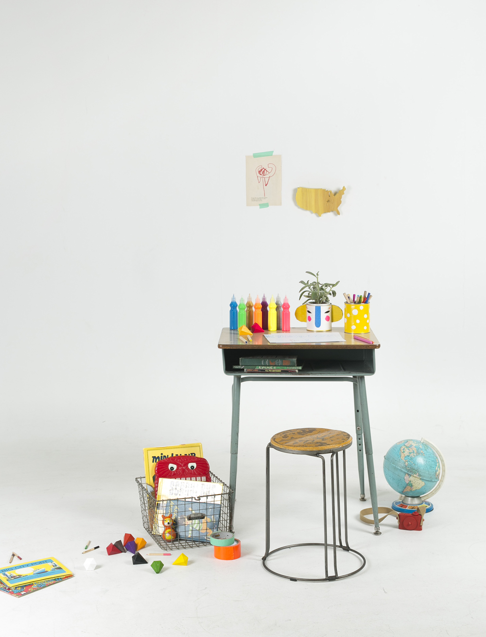 Mer Mag | Crafty Homework Space
