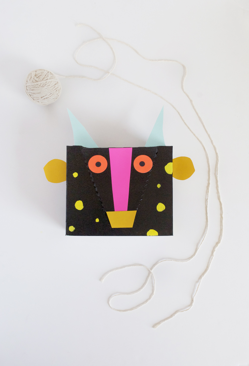 DIY Monster Candy Box | Mer Mag