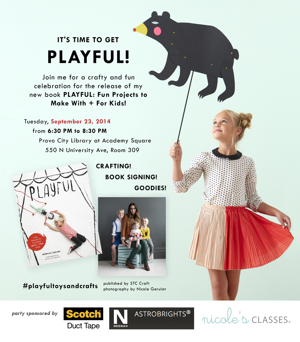 Playful Party Book Launch
