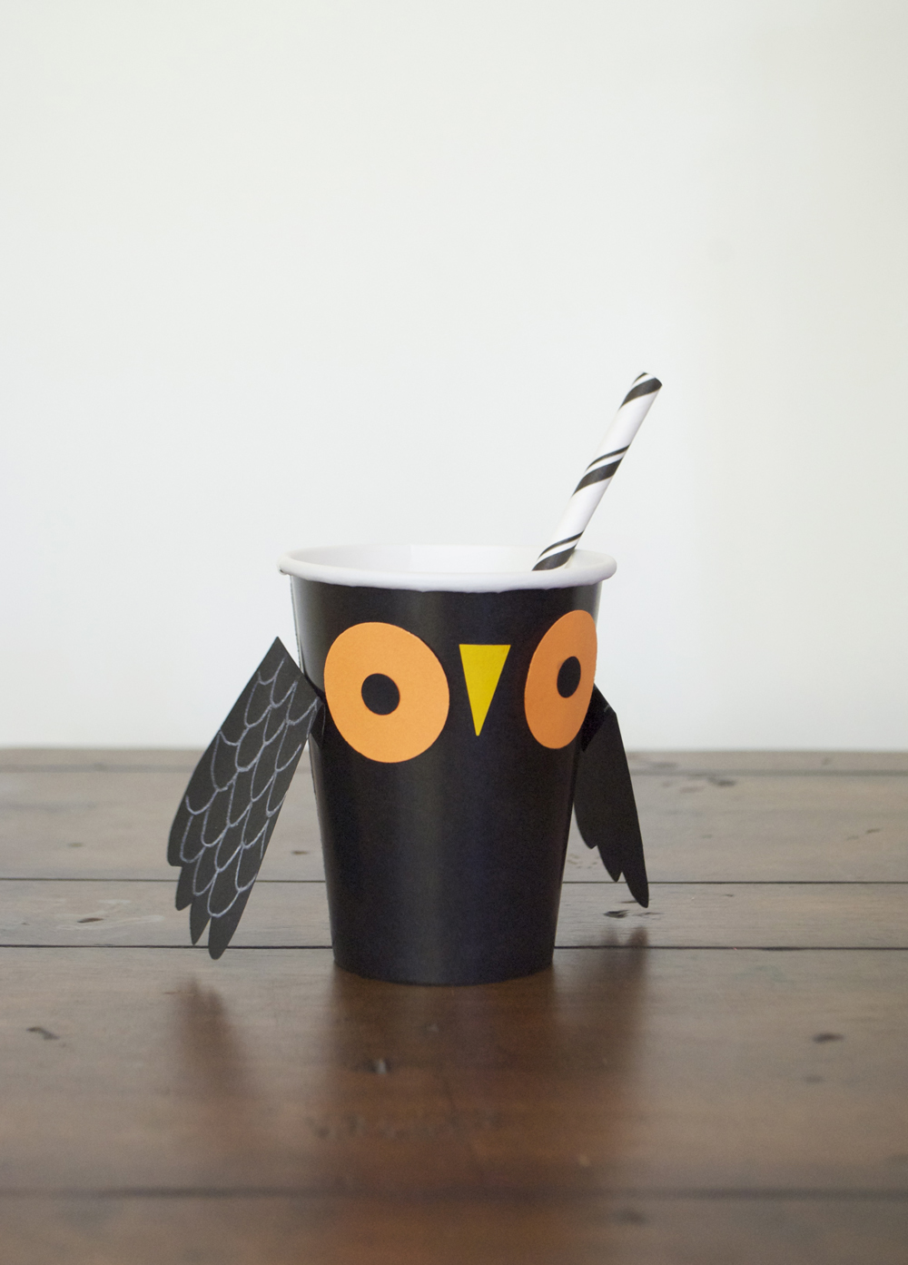 Halloween Party Owl Cup | Mer Mag + Astrobright Paper