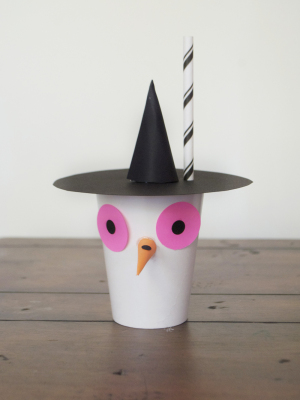 Halloween Party Witchy Cup | Mer Mag + Astrobright Paper