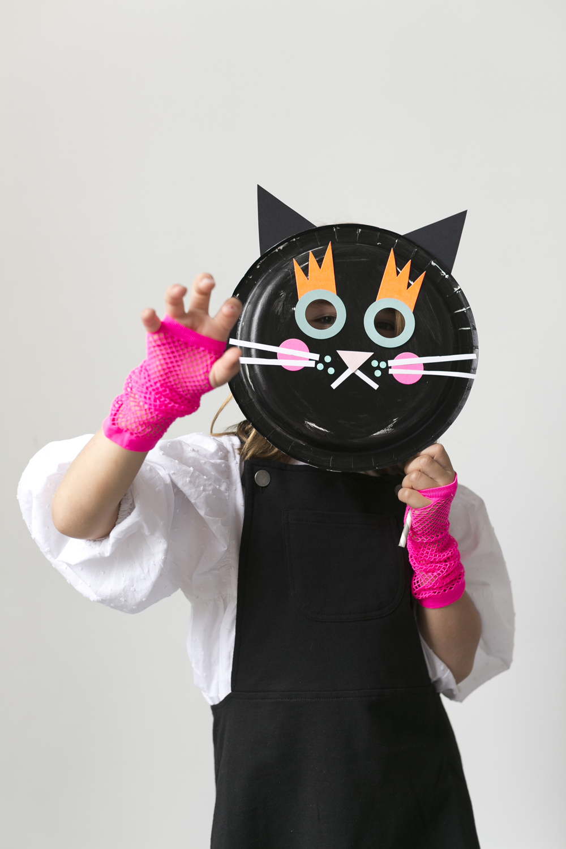 Halloween Paper Plate Masks & Halloween Paper Plate Masks - Mer Mag