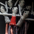 trapeze dolls from the book Playful | Mer Mag