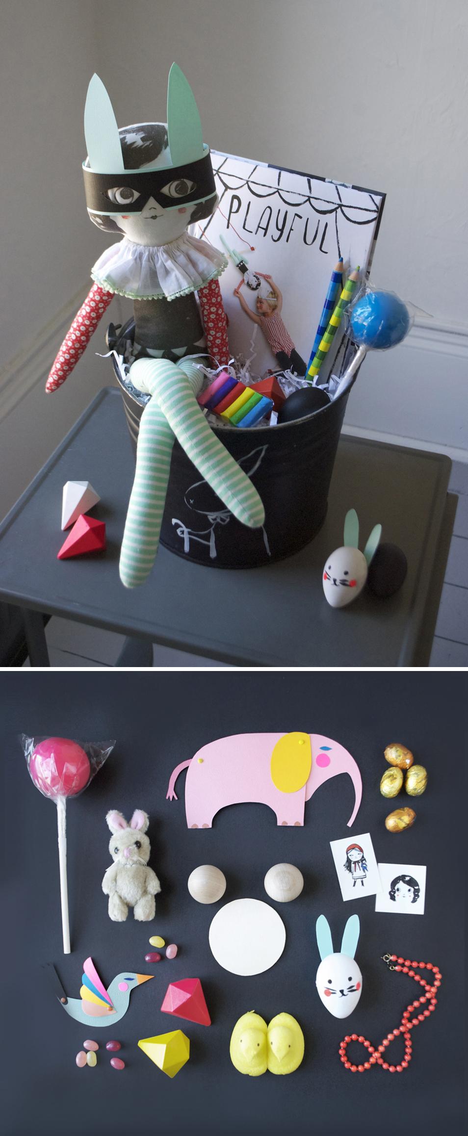 Playful Easter Basket | Mer Mag