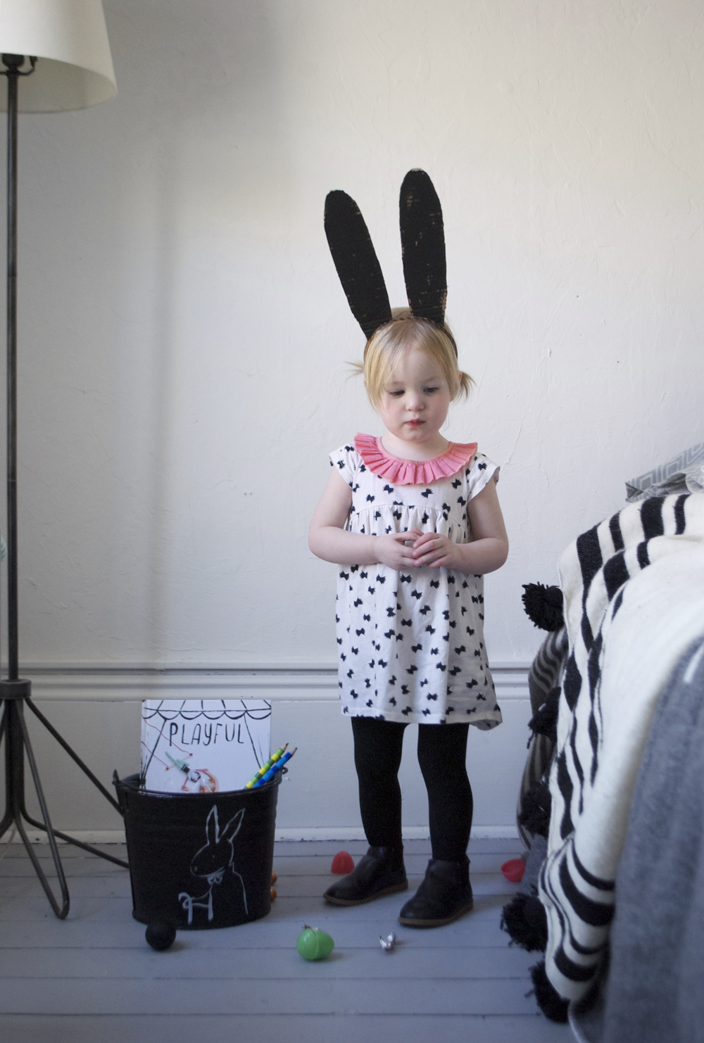 Cardbaord Easter Bunny Ears | Mer Mag