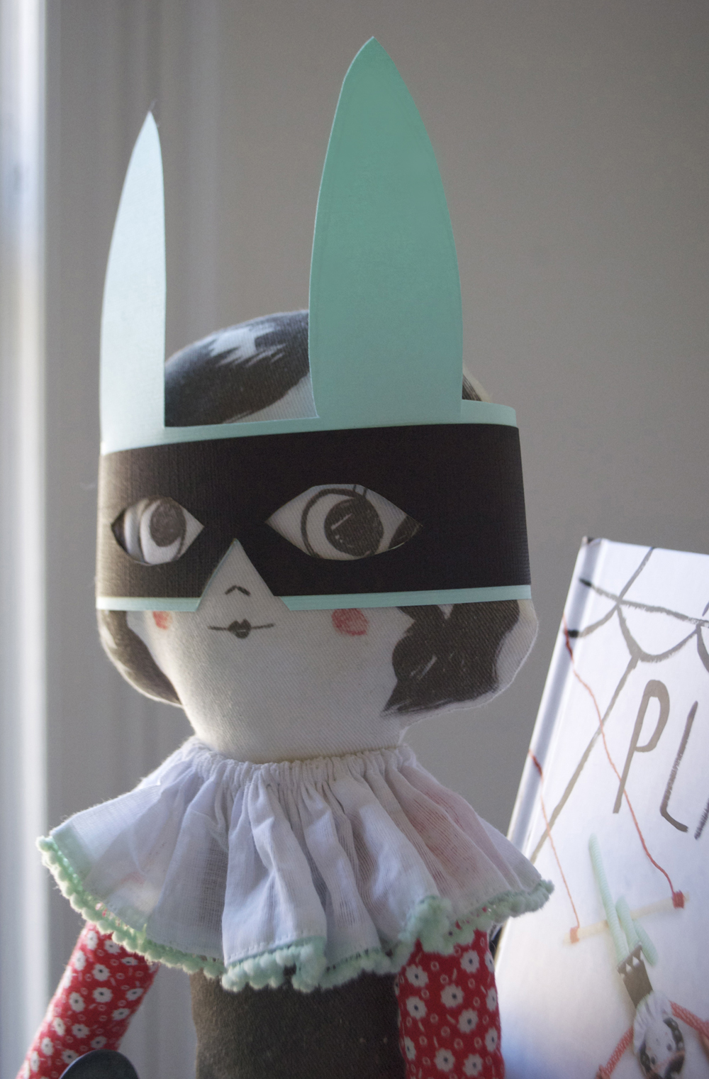 Trapeze Doll Bunny Bandit Mask | Mer Mag
