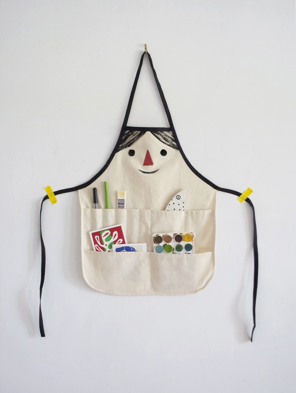 silly face apron DIY