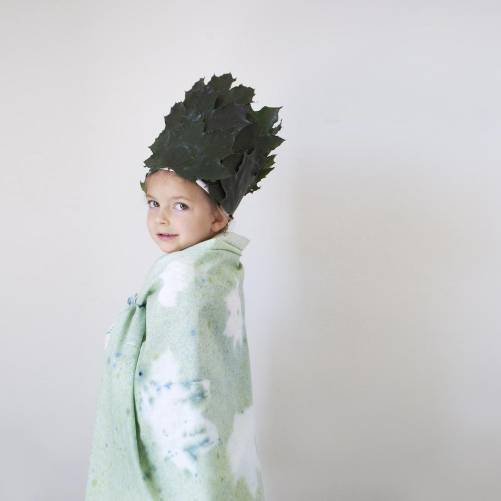 Leaf Crown & Cloak | mer mag