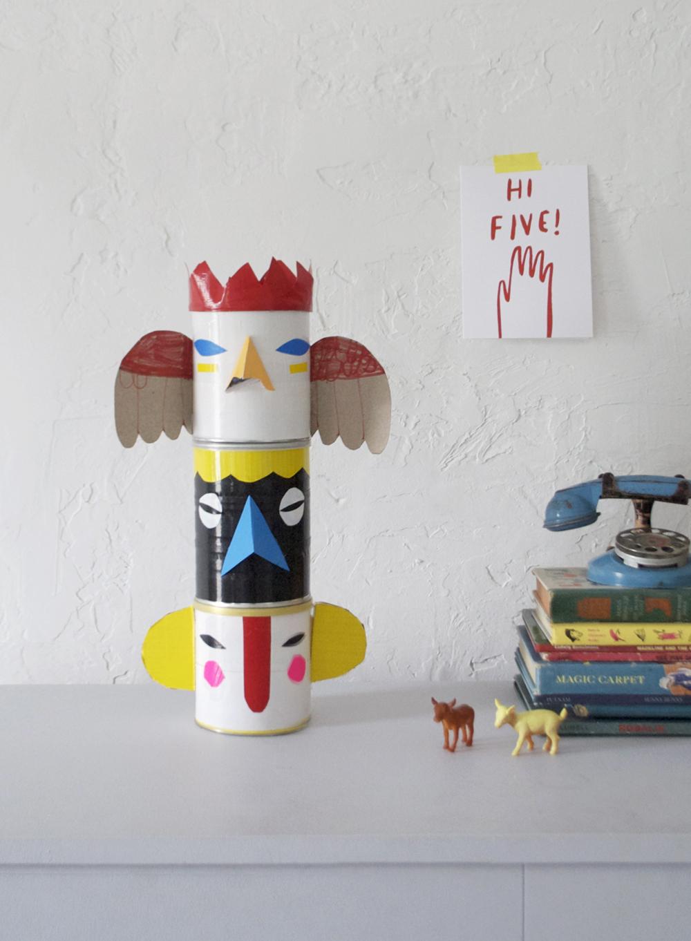 Duct Tape Totem Banks | Mer Mag