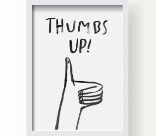 "New ""Thumbs Up"" Print in the Shop!"