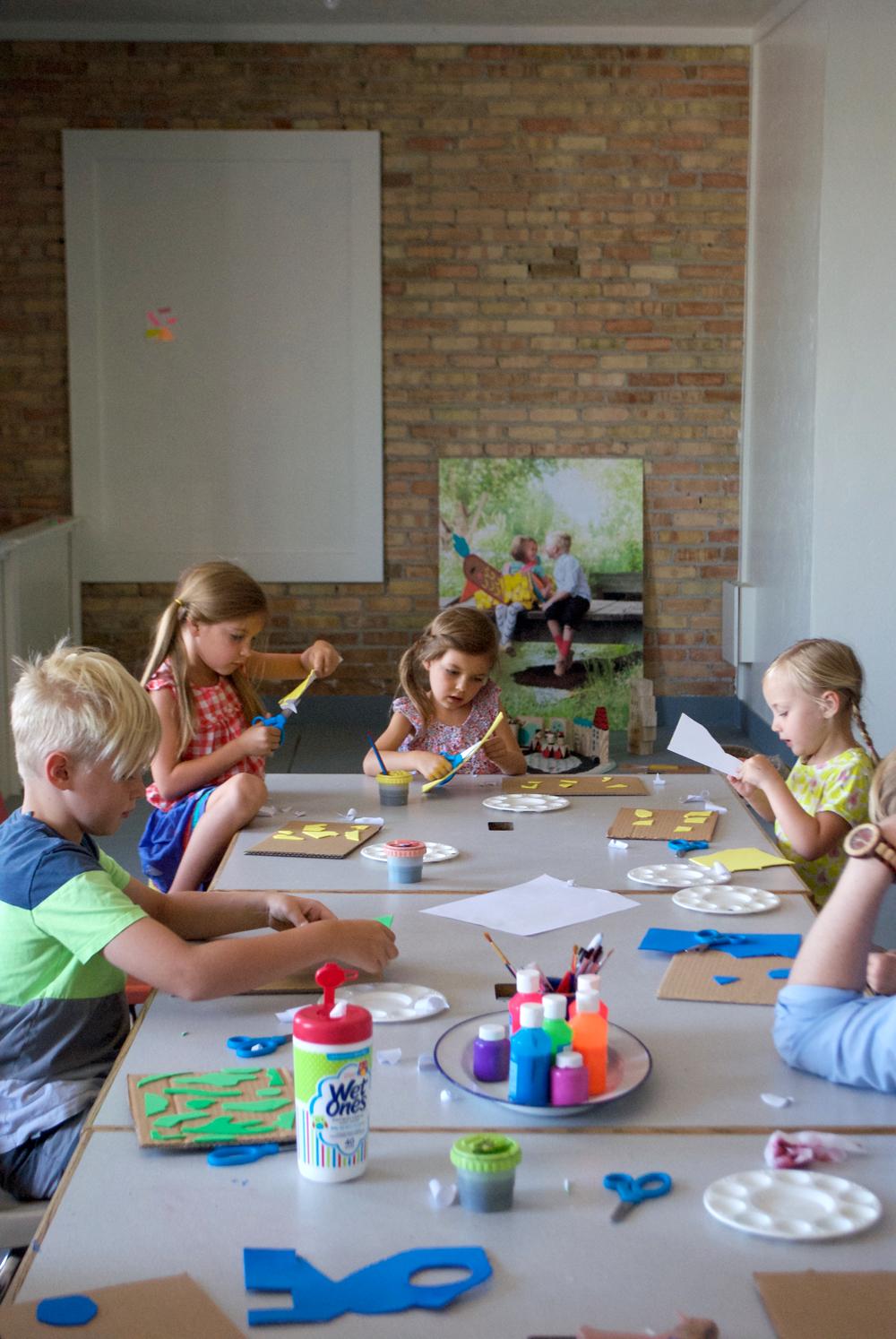 KidsCraftCampPrintmaking