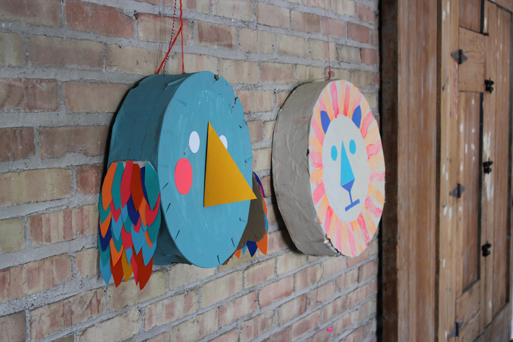 Bird+LionPinata | Mer Mag Kids Craft Camp