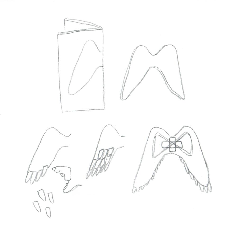 CardboardPaperWingsDIYInstructions