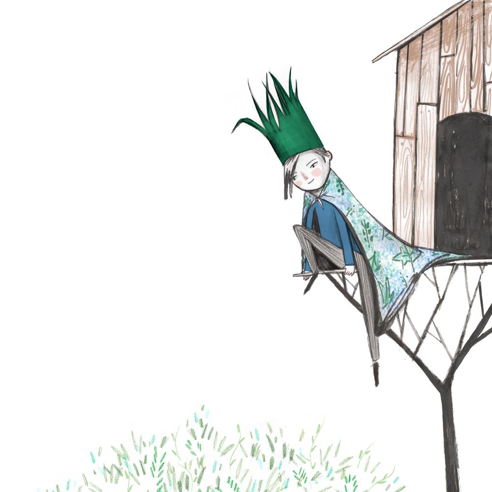Tenney's Tree House | Mer Illustration