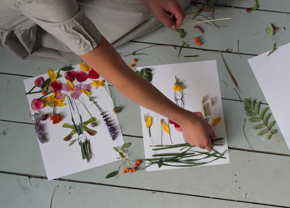 Mer Mag Make and Decorate Your Own Nature Paper DollsMer Mag