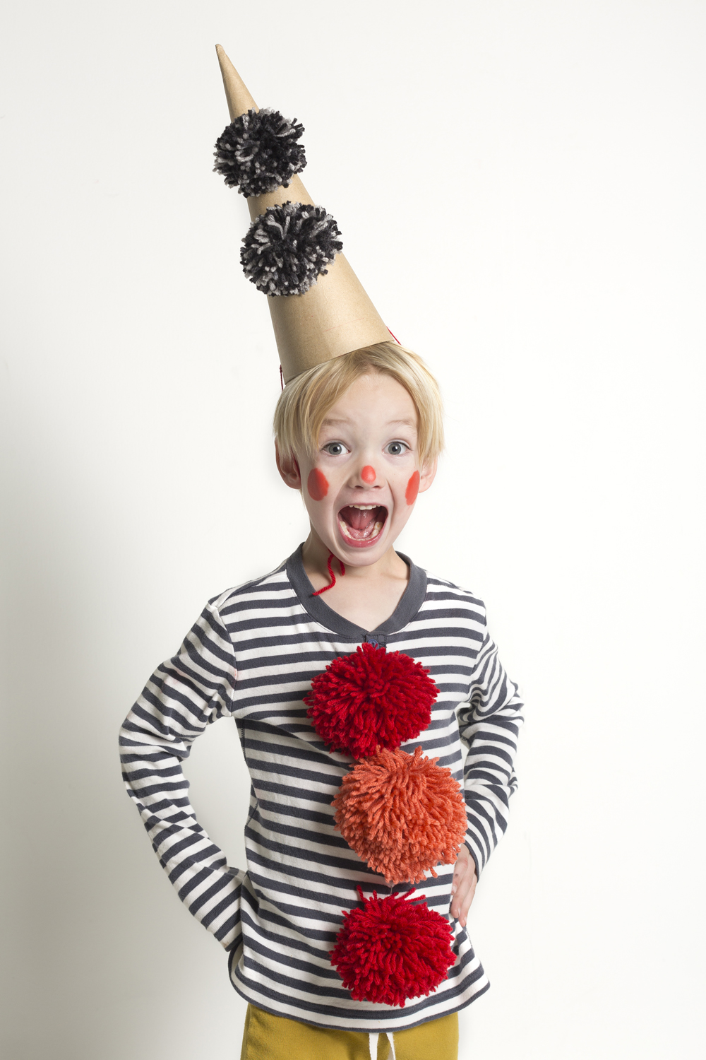 Easy Clown Costume | Mer Mag ...  sc 1 st  Mer Mag : clown diy costume  - Germanpascual.Com
