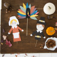Thanksgiving Puppets for Oh Happy Day!