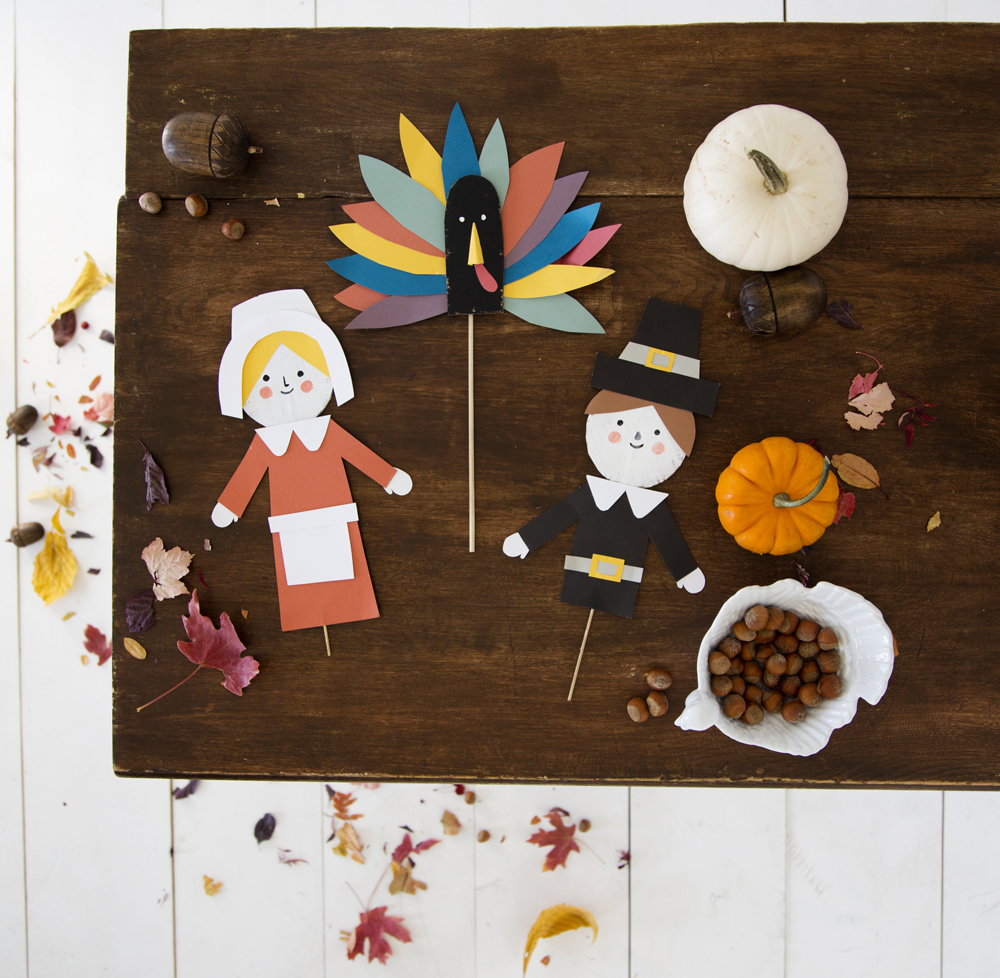 Thanksgiving Puppets | Mer Mag for OHD