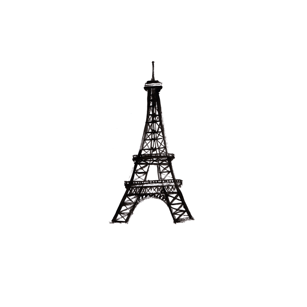 Eiffel Tower by Merrilee Liddiard