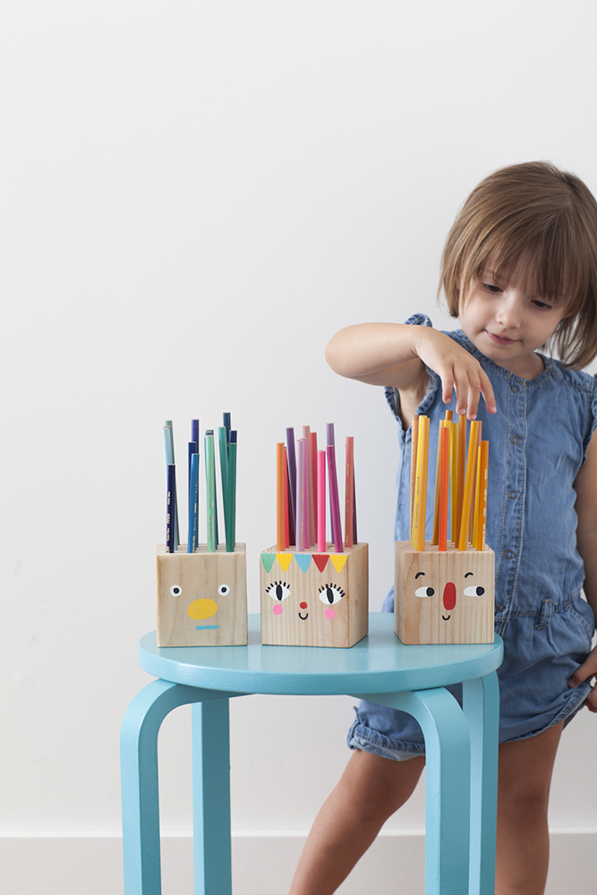 Funny Face Pencil Holders