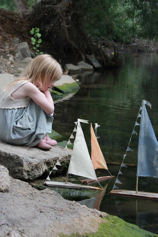 DIY Sailboats that really float!
