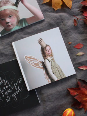 Journaling Halloweens of the Past with Chatbooks